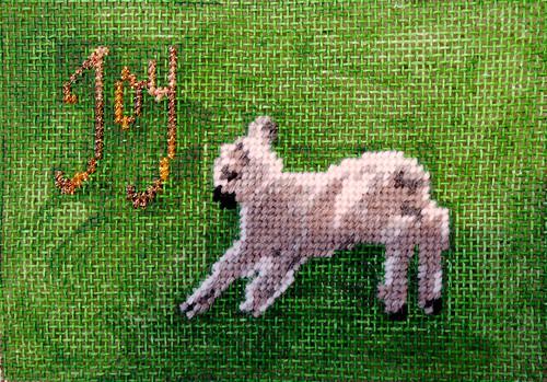 Leap for Joy Stitched by Carmen CS