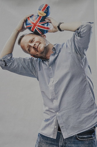 Patrick Ness by Chris Close