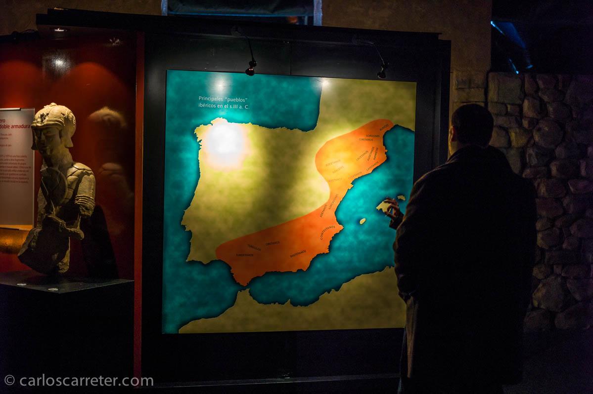 En naranja la Iberia/Hispania íbera
