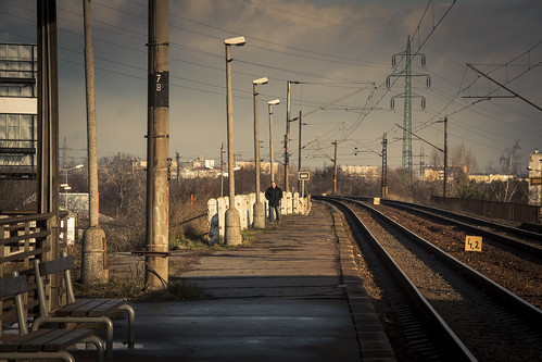 Lost Station : Solitude On The Tracks (Bratislava, Slovaquie) - Photo : Gilderic