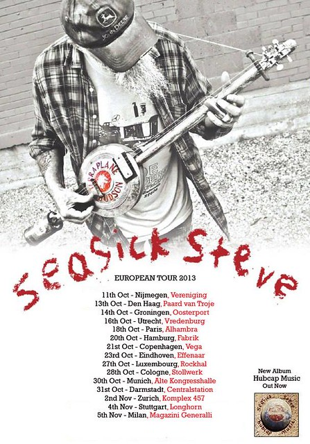 Seasick Steve - Tour Dates 2013