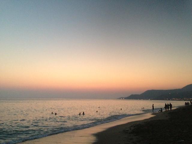 Alanya at sunset