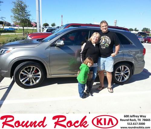 Thank you to Randy Kauffman on your new 2014 #Kia #Sorento from Fidel Martinez and everyone at Round Rock Kia! #LoveMyNewCar by RoundRockKia