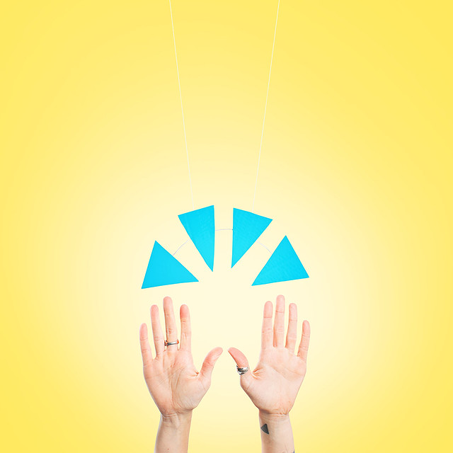 Emoji Blue hands