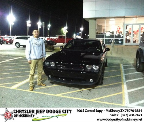 Dodge City McKinney Texas Customer Reviews and Testimonials-Rafael Villa III by Dodge City McKinney Texas