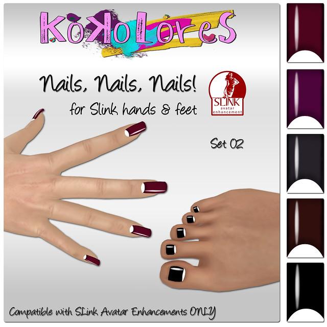 Nails, Nails, Nails! Set 02