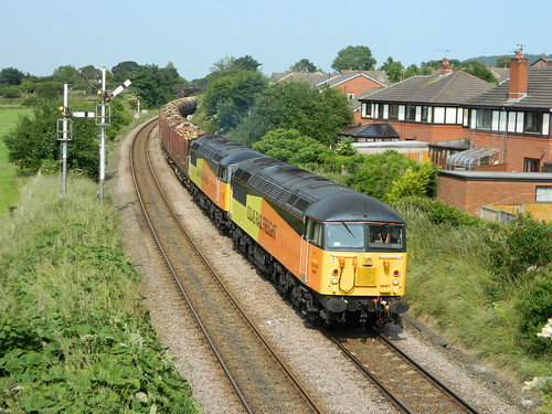 56087+ 56105 6Z70 at Helsby 05/07/2013