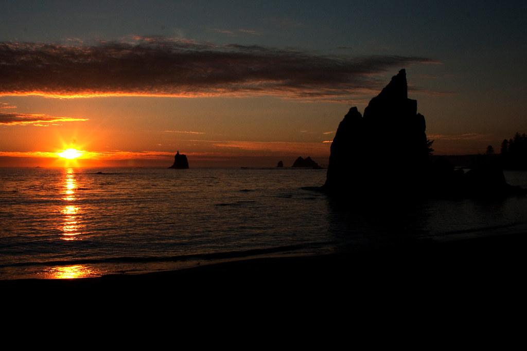 Sunset at Toleak Beach