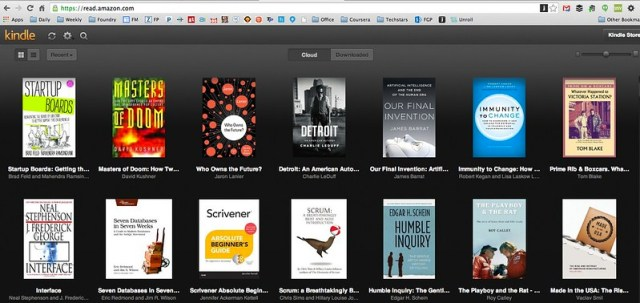 Startup Boards on Kindle