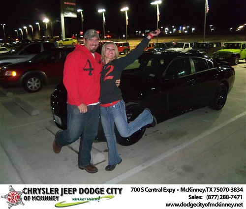 Happy Anniversary to Amanda Terry on your 2013 #Dodge #Charger from David Campos  and everyone at Dodge City of McKinney! #Anniversary by Dodge City McKinney Texas