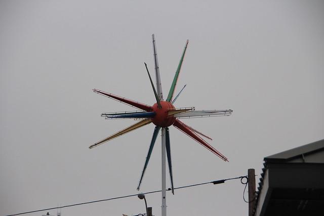 Sputnik on a Cloudy Day