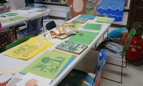 Printmaking class 3