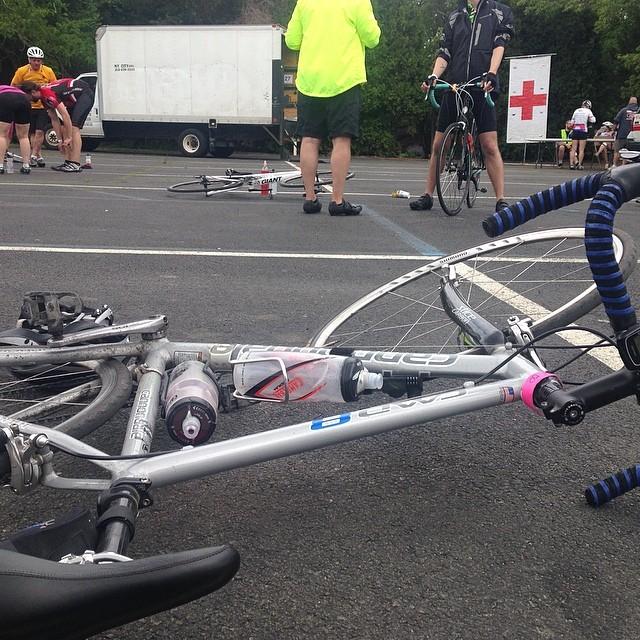 My bike and I are tired #ridetomontauk