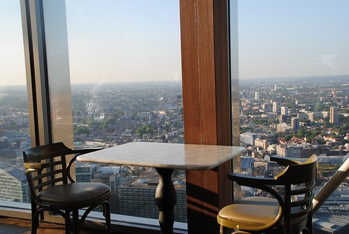 View of London from Heron Tower and Duck & Waffle