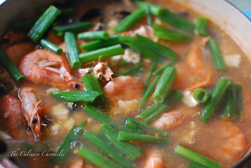 Soondubu Jjigae - Soft Tofu Stew