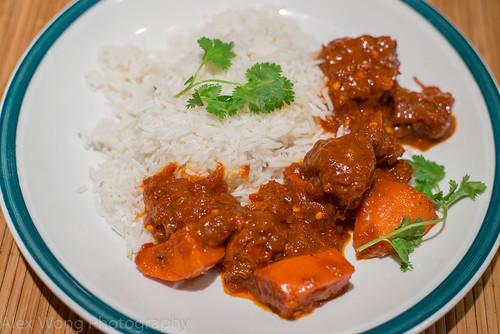 Lamb Vindaloo/Basmati Rice