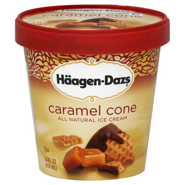 Haagen-Dazs Caramel Cone