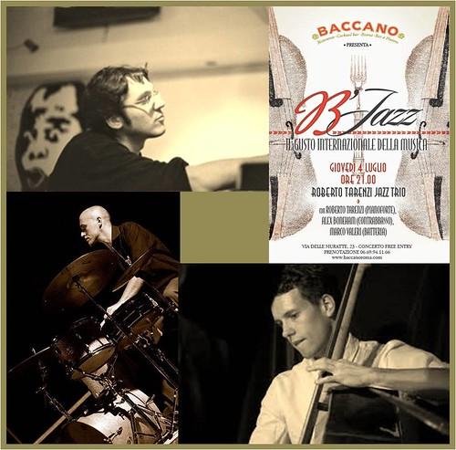 B'Jazz ROBERTO TARENZI JAZZ TRIO by cristiana.piraino
