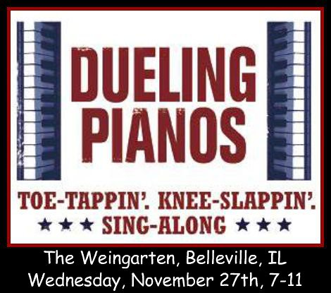 Dueling Pianos 11-27-13