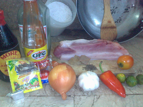 Fried Adobö with saucenot by joy san gabriel