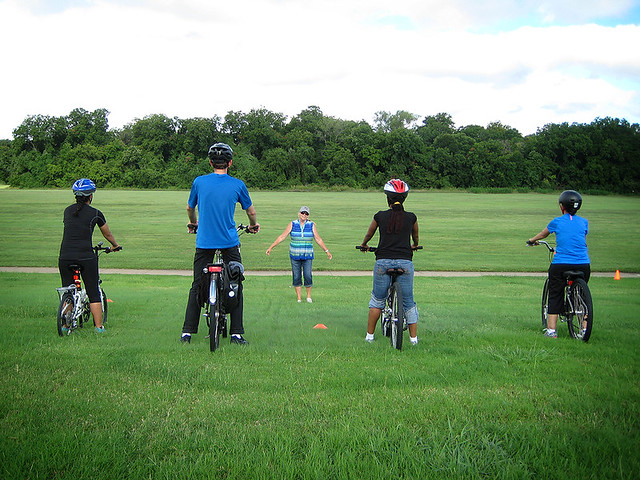 Bicycling Skills 123 - Teaching Adults To Ride