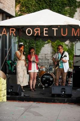 Alex Lukashevsky, Felicity Wiliams & Daniela Gesundheit @ Arboretum Arts Festival