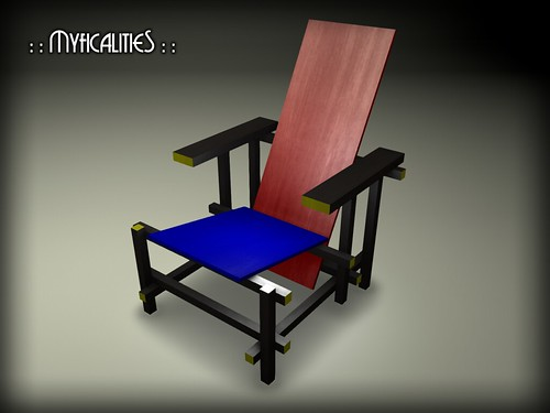::MM:: Rietveld Chair by Myficalities