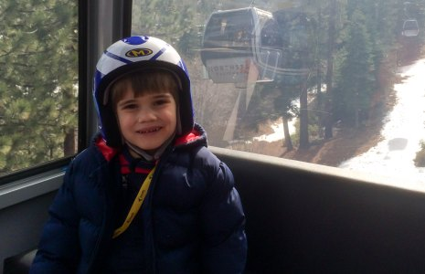 Colin in the Gondola