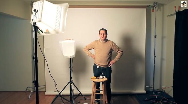 Como monatar un estudio fotografico de bajo presupuesto