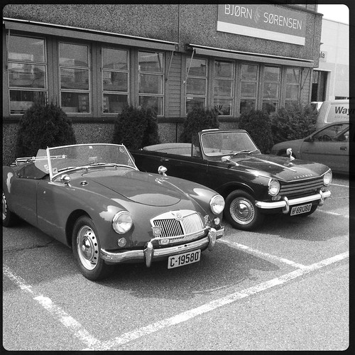 Englishmen in the Carpark by Davidap2009