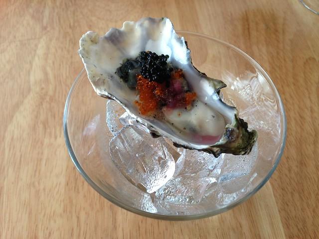 Local Marin miyagi oyster - Roxy's Cafe