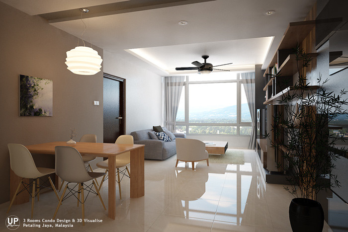 Condo interior design ideas malaysia for Room design malaysia