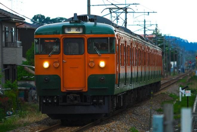9404M 臨時普通列車 115系