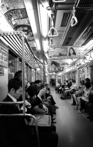 Tokyo Metro Commuters, by Pixelglo Photography