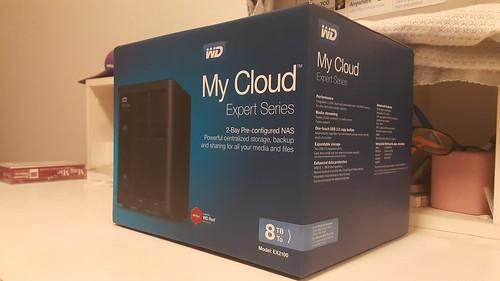 WD My Cloud EX2100 8TB