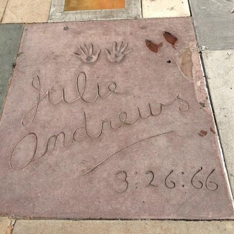 ジュリー・アンドリュース。