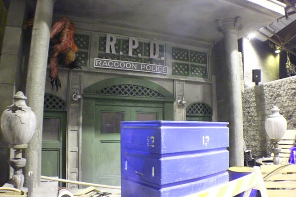Resident Evil lights-on at Universal Orlando