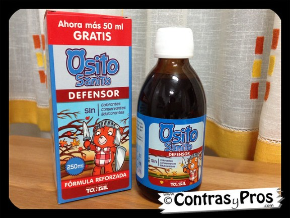 Jarabe Osito Sanito Defensor