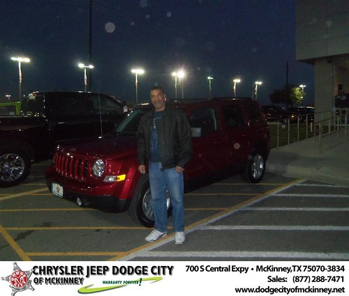 Happy Anniversary to Ralph Jones on your 2013 #Jeep #Patriot from Bobby Crosby  and everyone at Dodge City of McKinney! #Anniversary by Dodge City McKinney Texas