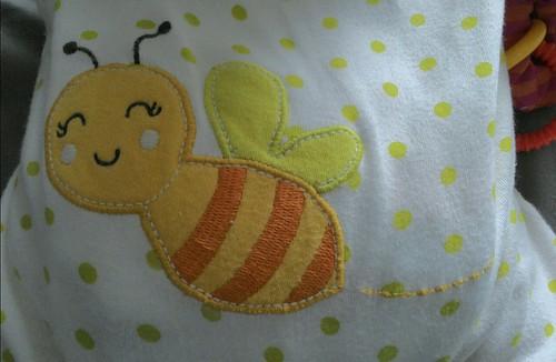 bee in PJ