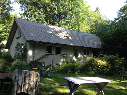 Straw bale house in Vashon, WA