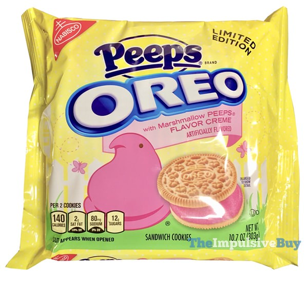 Limited Edition Peeps Oreo Cookies