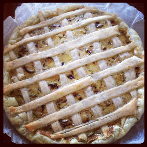 Torta salata con zucchine #cucina #food #summer