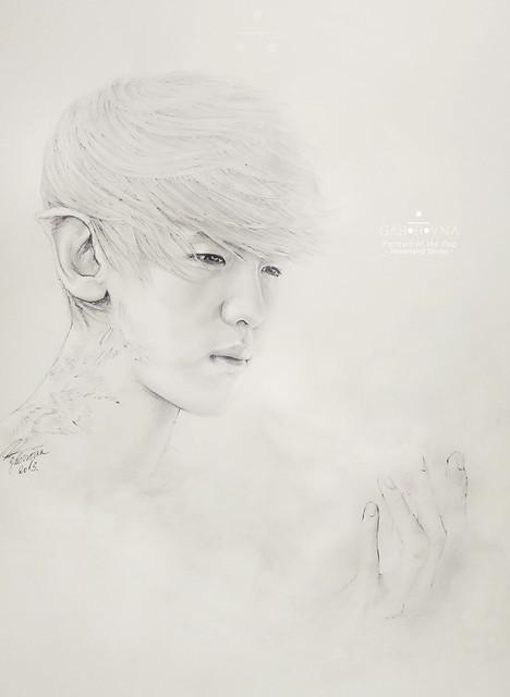 Portrait of Fog (Baekhyun fanart)