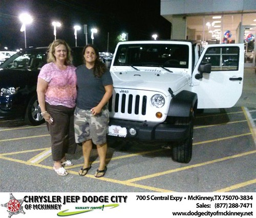 Thank you to Suzanne Allen on the 2013 new Jeep  from David Walls and everyone at Dodge City of McKinney! by Dodge City McKinney Texas