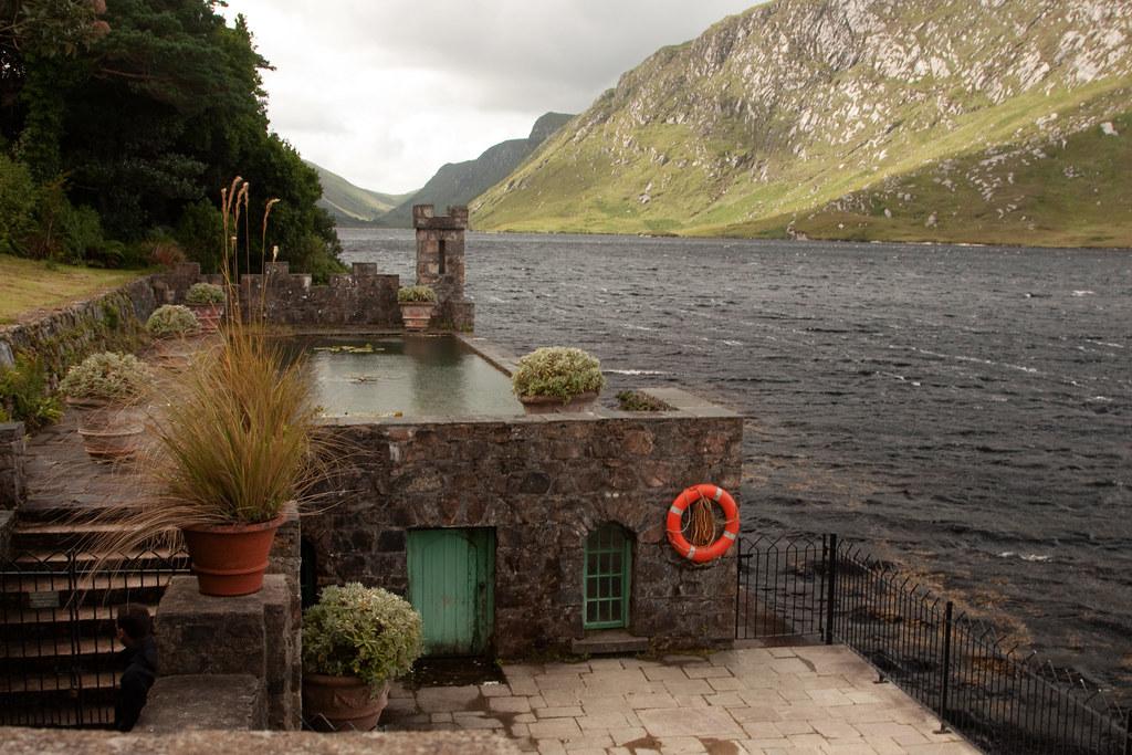 Glenveagh Castle Pool
