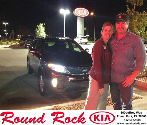 Thank you to Cari Kleen on your new 2014 Kia Sorento from Derek Martinez and everyone at Round Rock Kia! by RoundRockKia