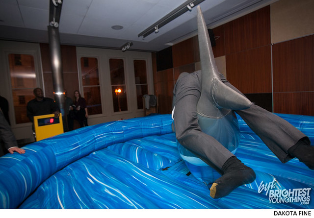 BYT hosts the Sharks and Lasers party at the International Spy Musuem in Washington, DC on Friday November 15, 2013.
