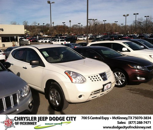 Thank you to Anais Cruz on your new 2010 #Nissan #Rogue from George Rutledge and everyone at Dodge City of McKinney! by Dodge City McKinney Texas