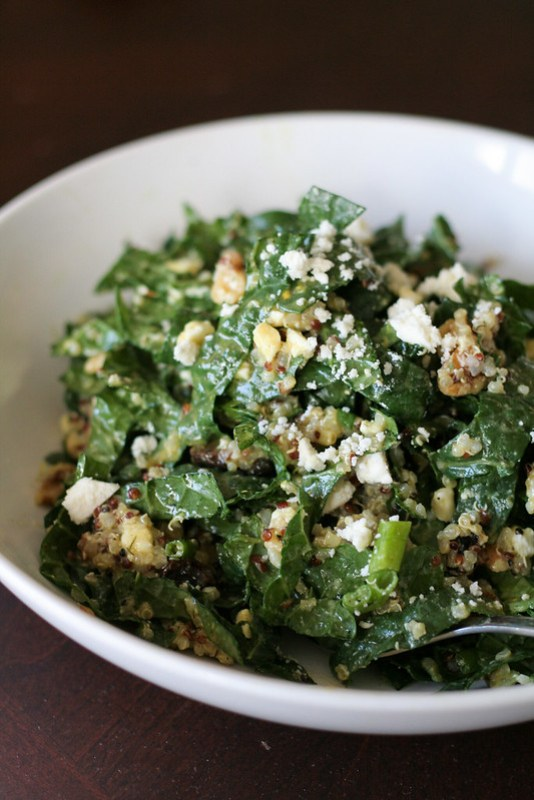 kale and quinoa salad [ inthiskitchen.com ]